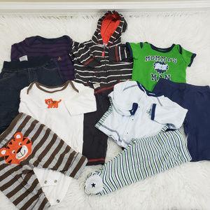  Boy's 5 Outfit Bundle